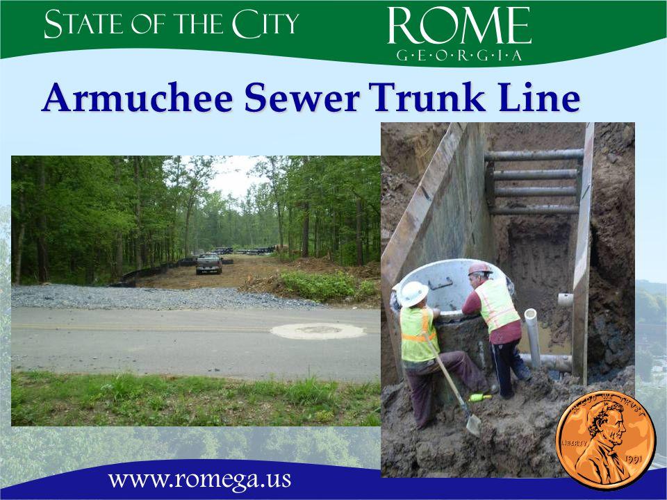 Armuchee Sewer Trunk Line