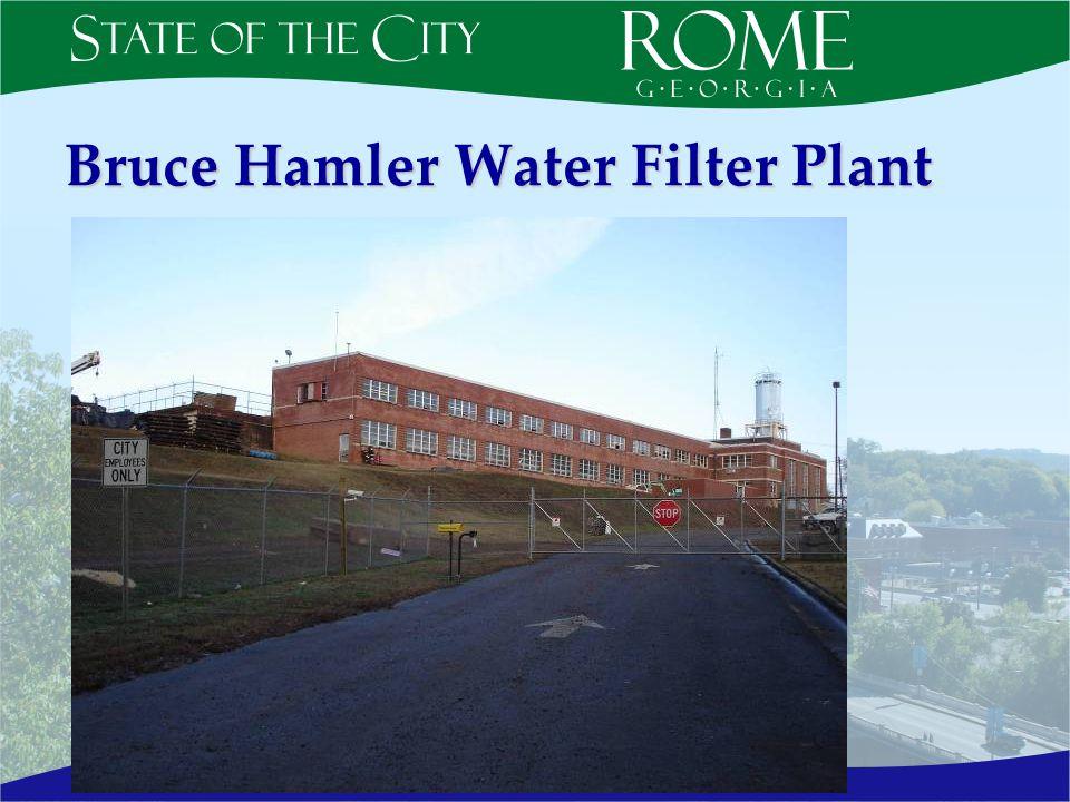 Bruce Hamler Water Filter Plant