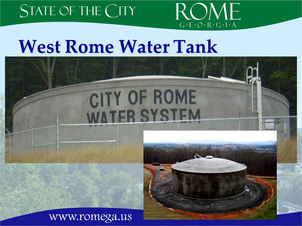 West Rome Water Tank
