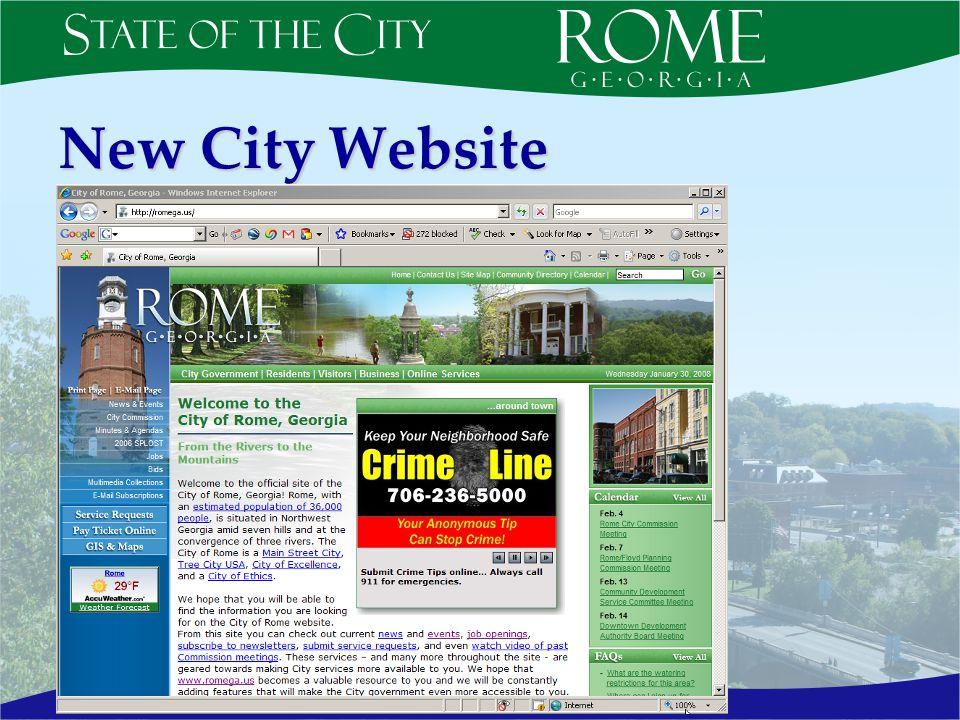 New City Website