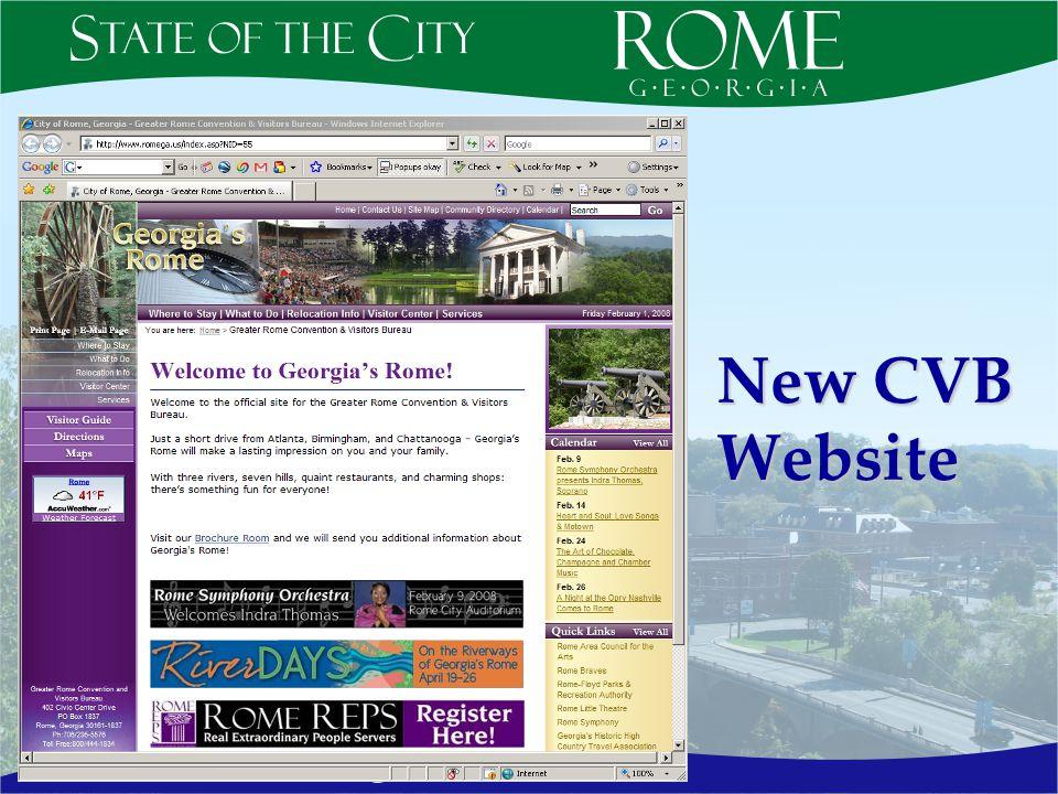 New CVB Website