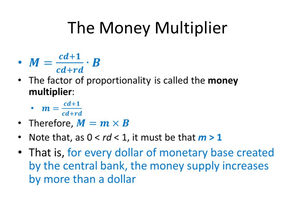 The Money Multiplier