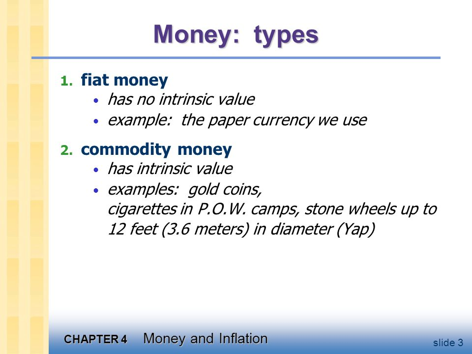 CHAPTER 4 Money and Inflation slide 14 The Quantity Theory of Money, cont.
