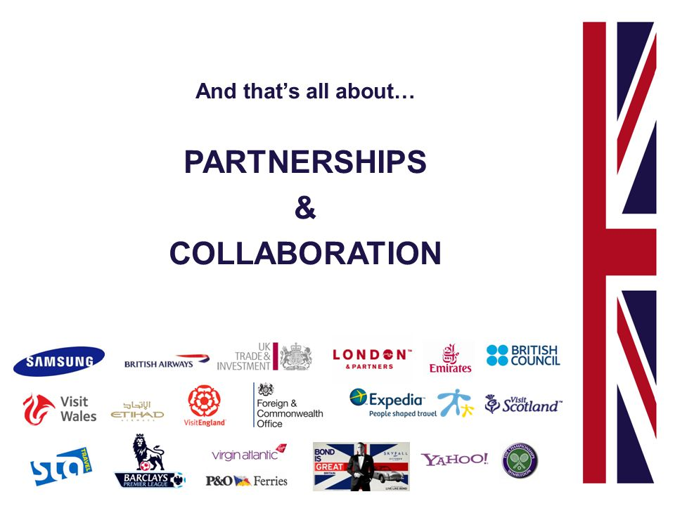 And thats all about… PARTNERSHIPS & COLLABORATION