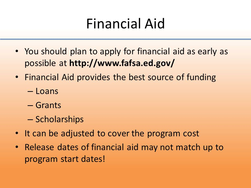 Recap 1.Fill out a FAFSA 2.Research Scholarships 3.Apply