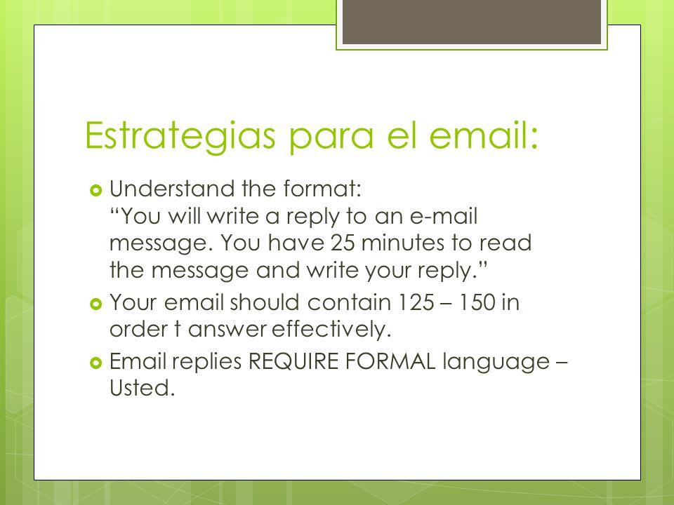 Estrategias Request more details.– It is a requirement.