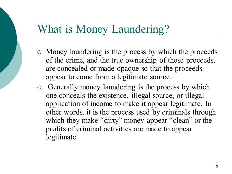33 Money Laundering Thank You