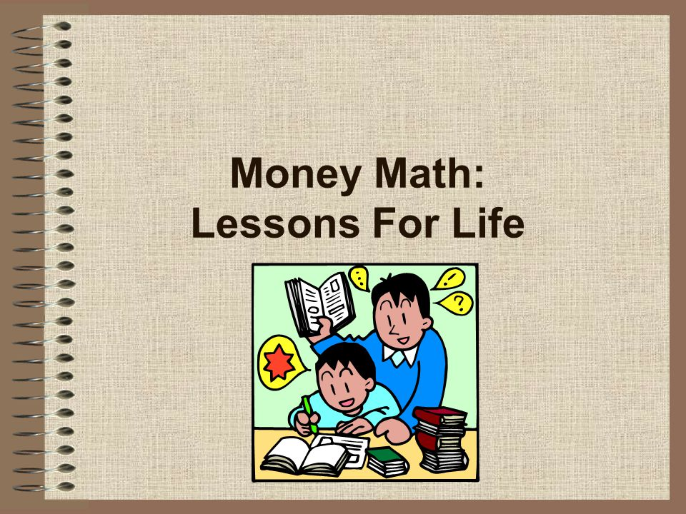 Money Math: Lessons For Life