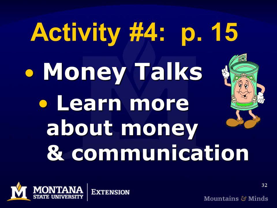 Activity #4: p.