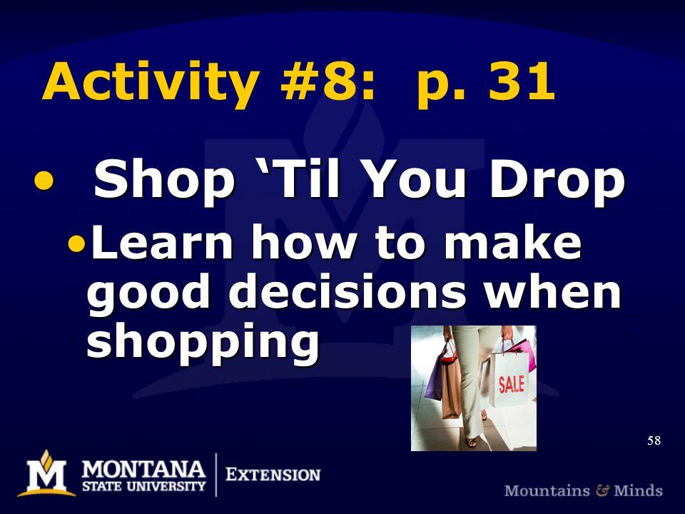 Activity #8: p.