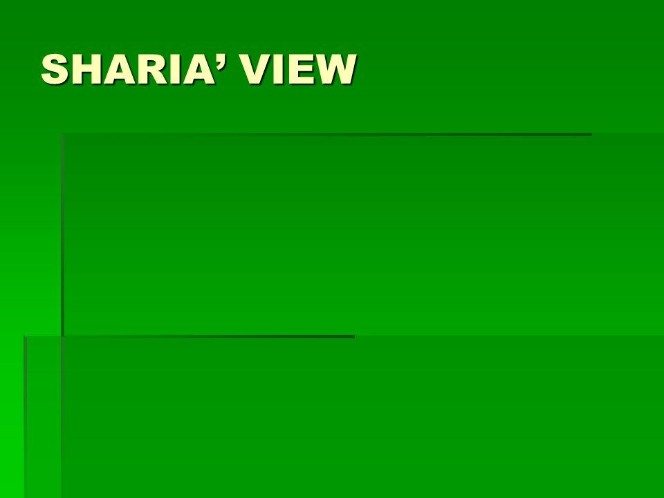 SHARIA VIEW