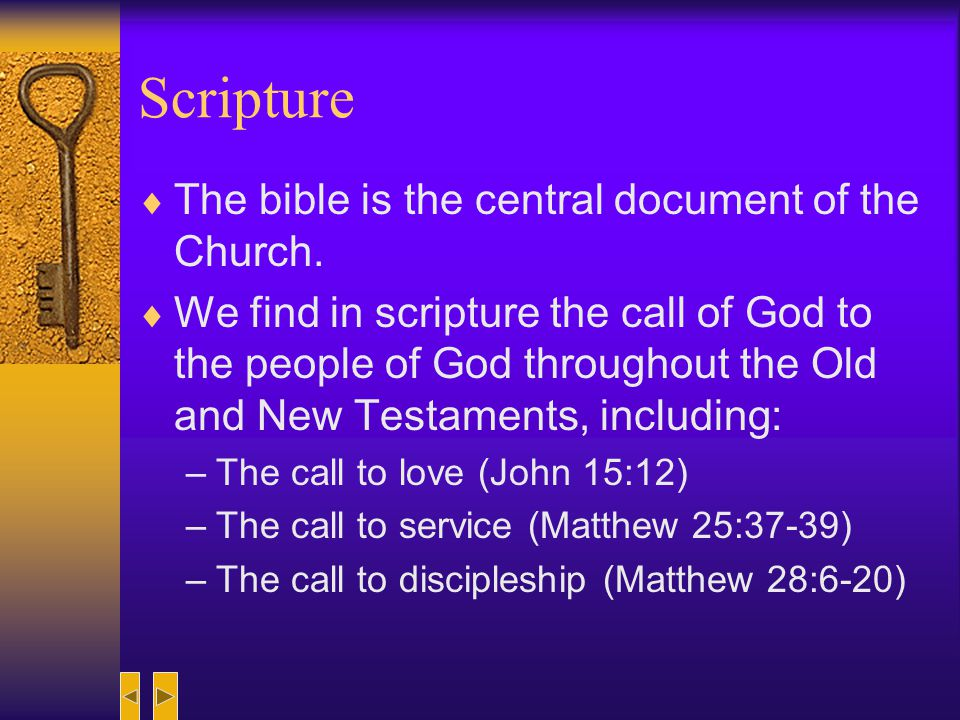 Four Sources for Understanding Mission Scripture Reason Tradition Personal Faith