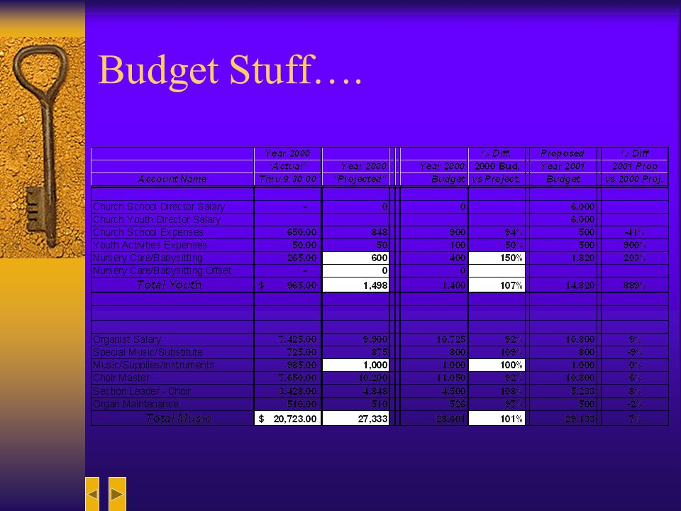 Organizing the New Budget Once the action plan is in place, it serves as the reason for the new budget figures.