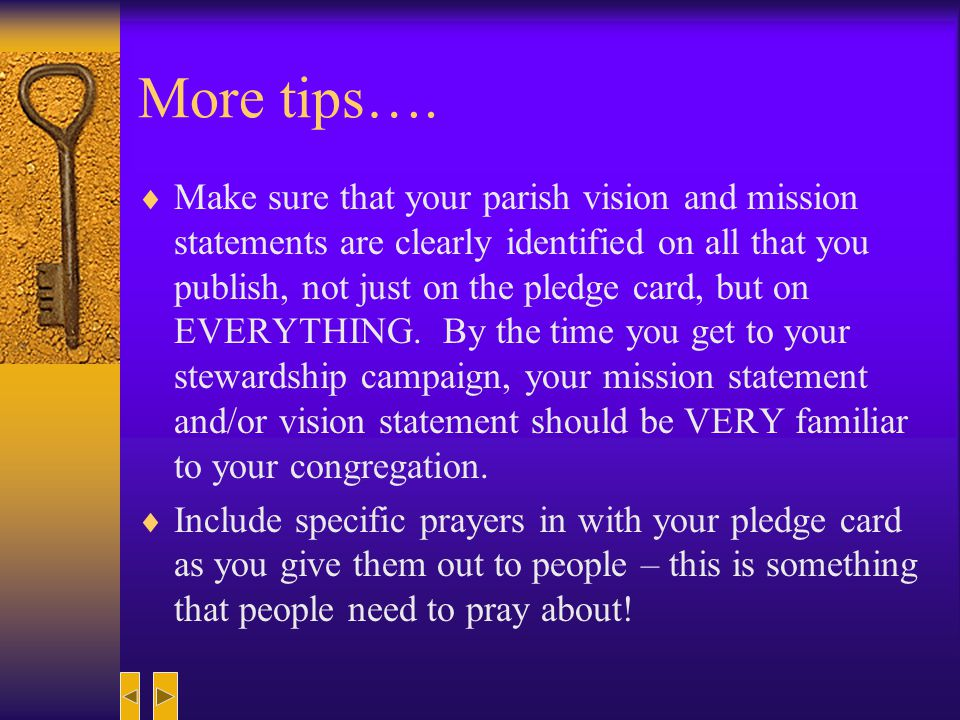 Helpful Hints….and Things to Think About…..We do not fulfill the mission of the Church alone.