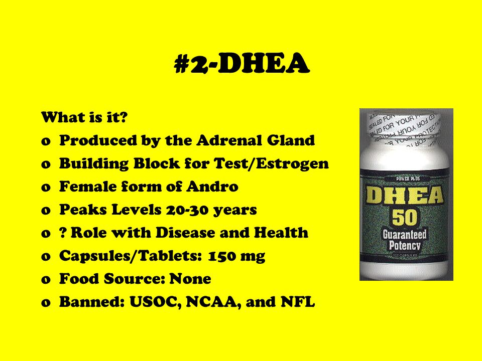 #2-DHEA What is it.