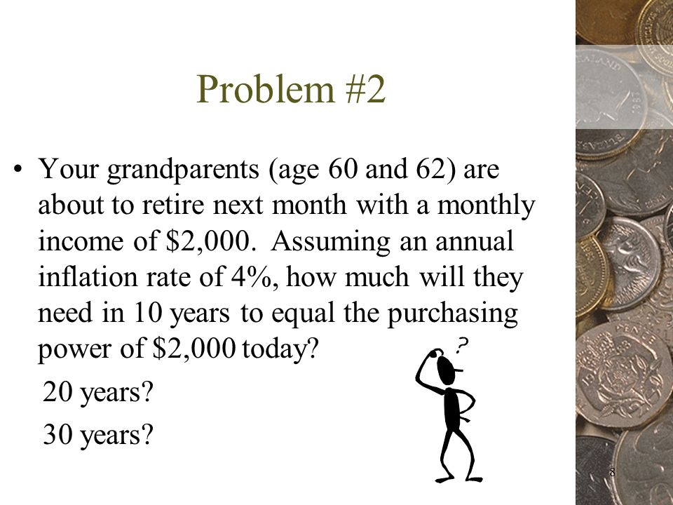9 What can your grandparents do to prevent inflation from eroding their purchasing power?