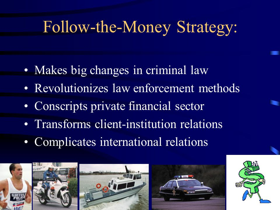 Follow-the-Money Methods of Crime Control: An Appraisal by R.