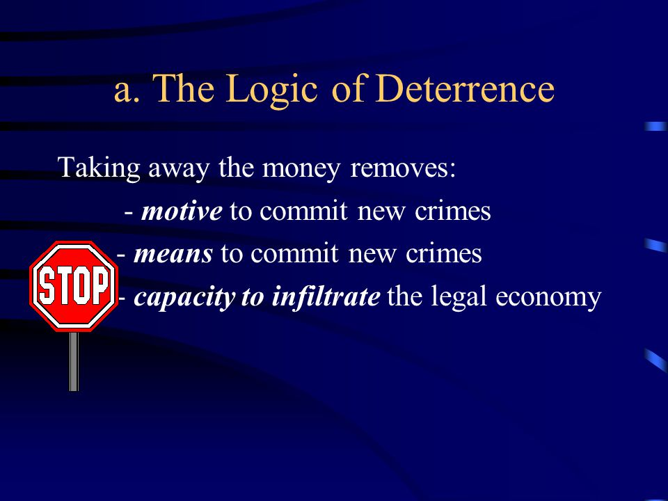 5.Collateral Damage. The U.S. Model a. Regulatory infractions = crimes b.