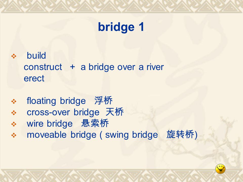 bridge 1 build construct + a bridge over a river erect floating bridge cross-over bridge wire bridge moveable bridge ( swing bridge )