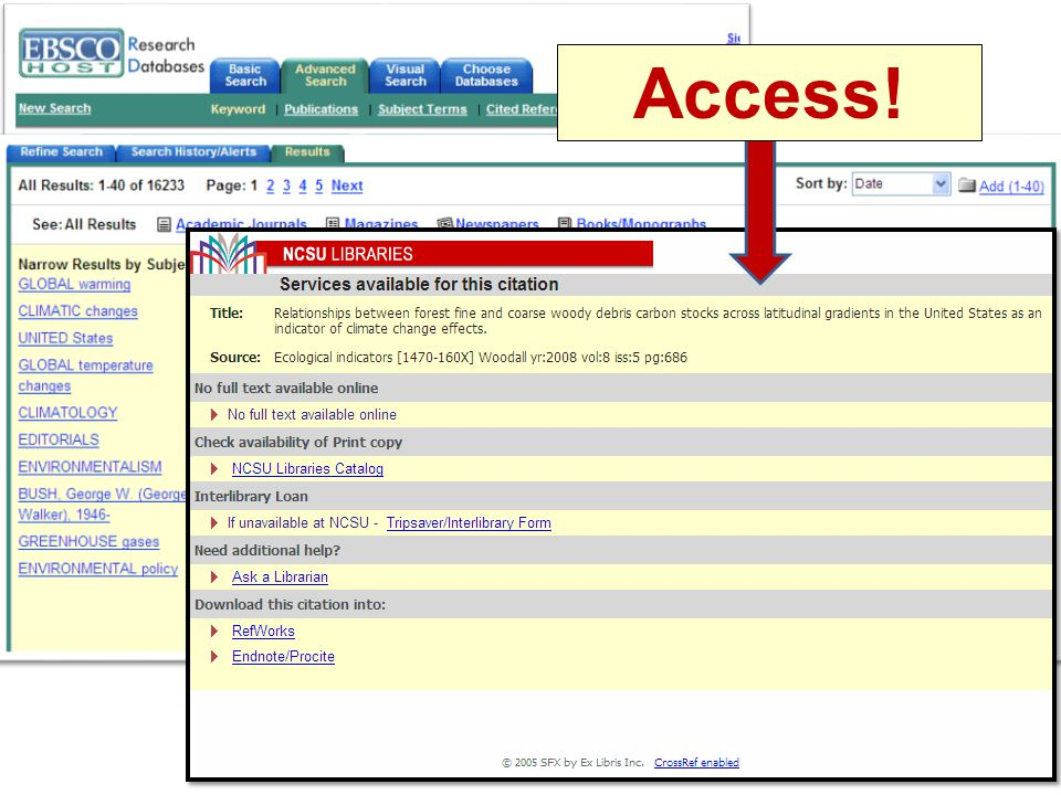 Access!