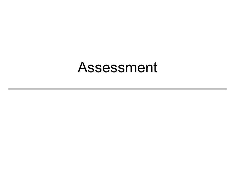 Assessment _________________________________