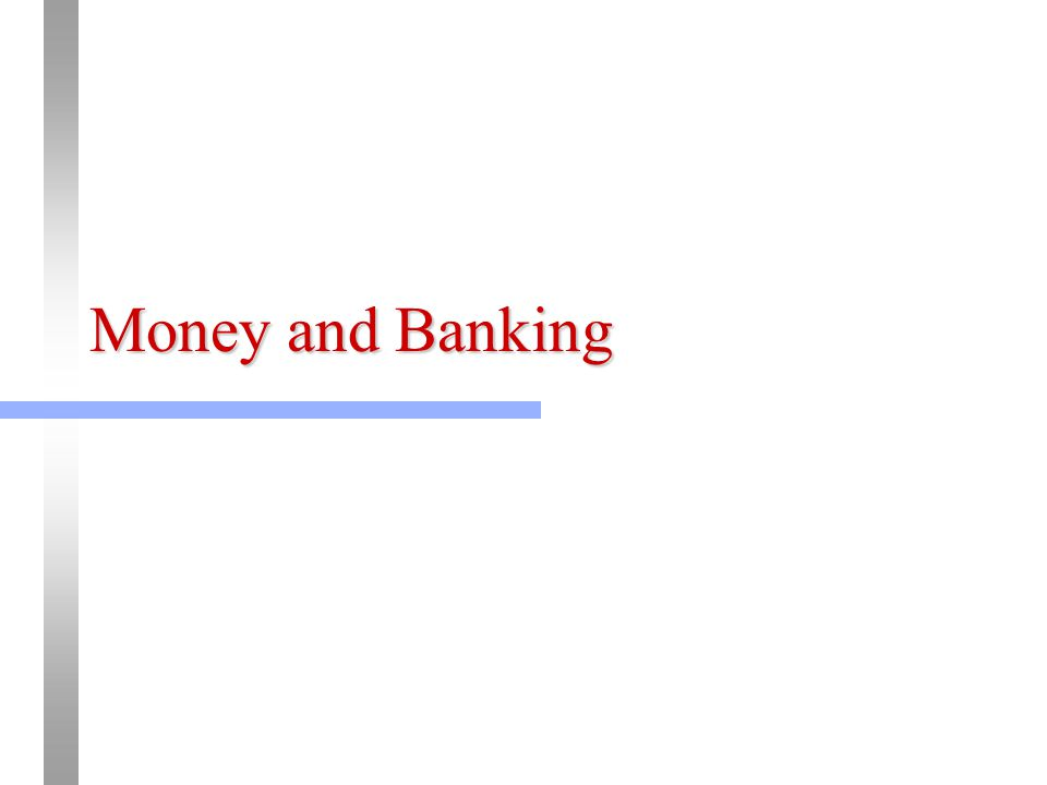 Money is whatever is generally accepted in exchange for goods and servicesaccepted not as an object to be consumed but as an object that represents a temporary abode of purchasing power to be used for buying still other goods and services.