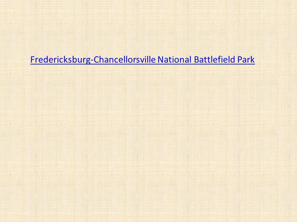 Fredericksburg-Chancellorsville National Battlefield Park