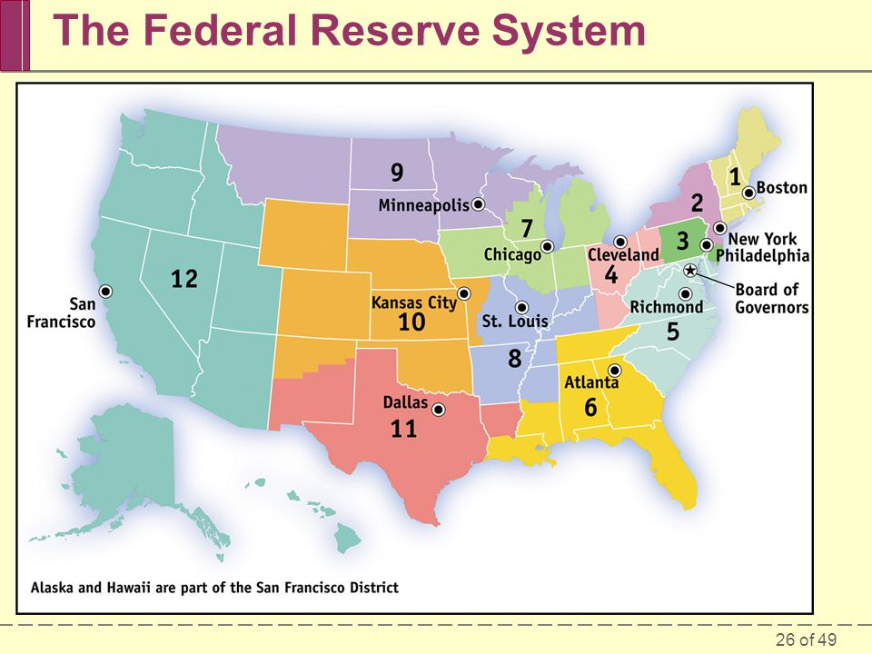 26 of 49 The Federal Reserve System