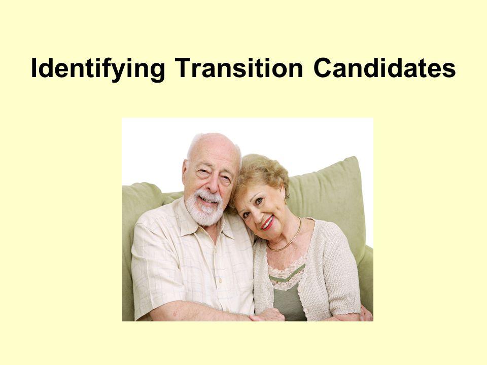 Identifying Transition Candidates