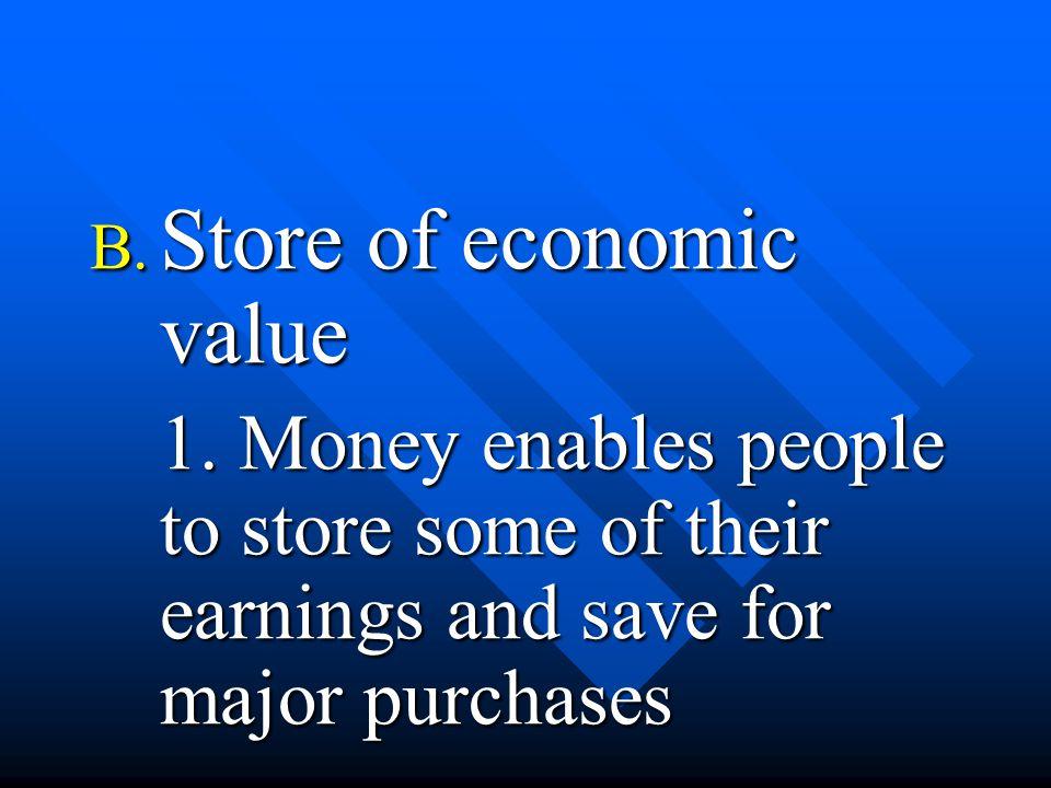 C.Savings Account 1. Earns depositor interest 2.