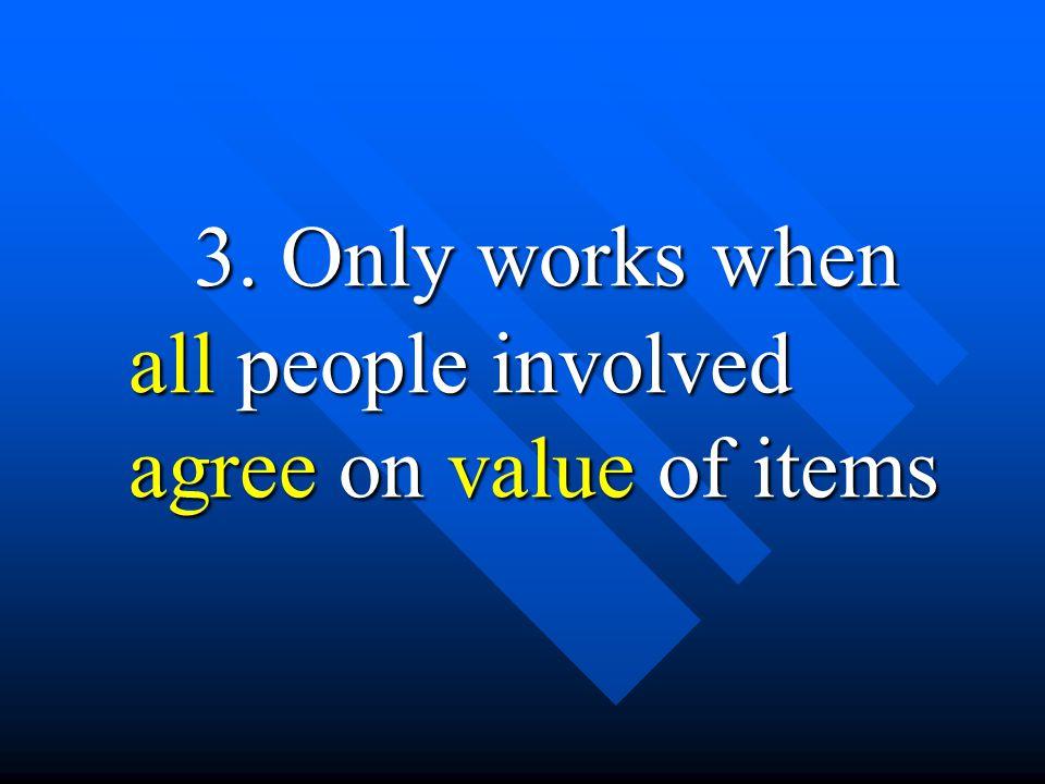 4. Money is not necessary
