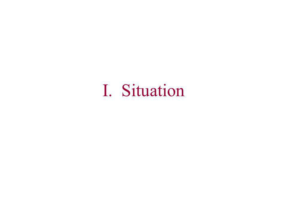 I. Situation