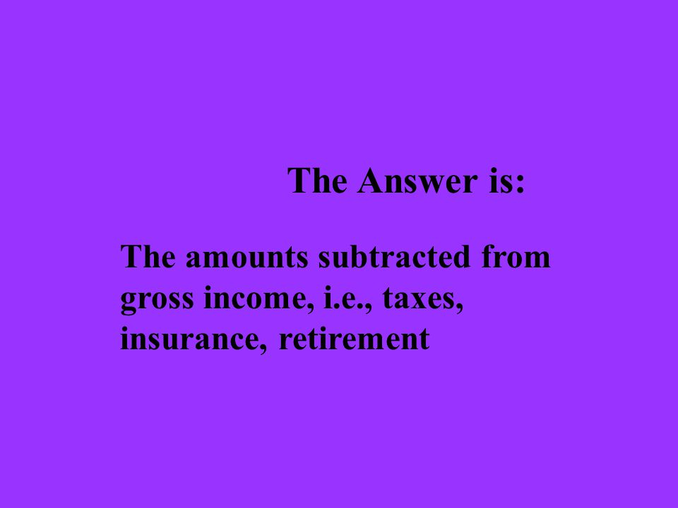 The Question is: What are the two types of expenses?