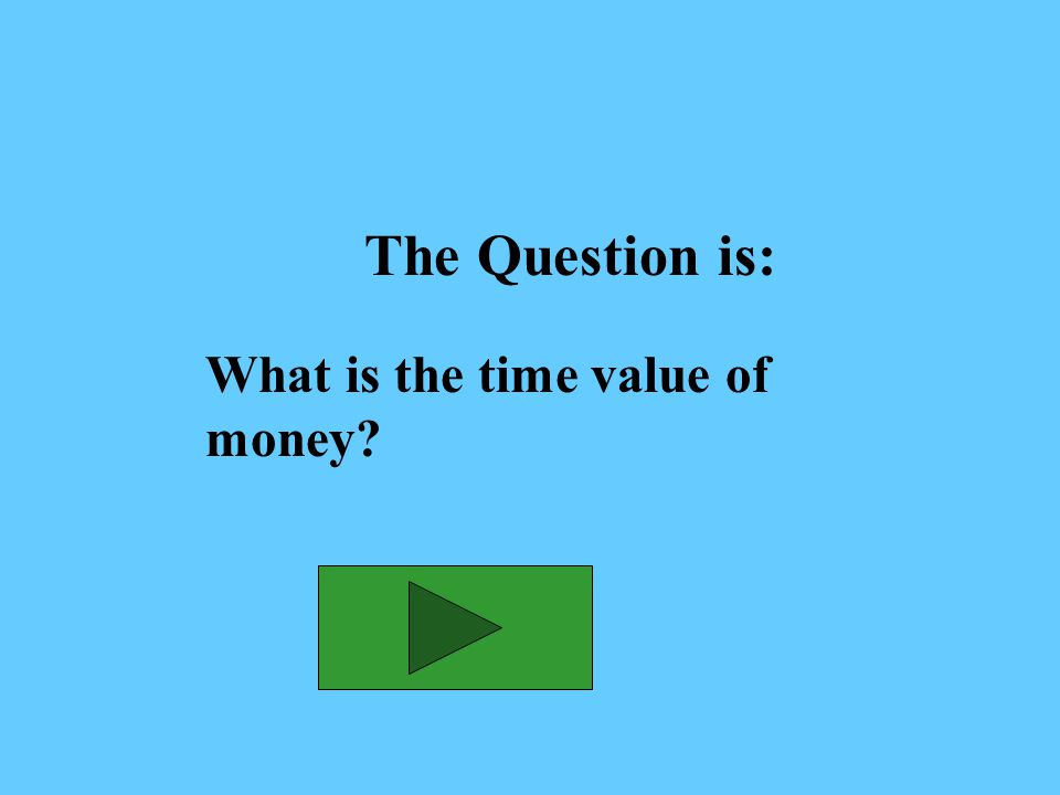 The Answer is: The relationship between time, money and rate of return (interest) and their effect on earnings growth