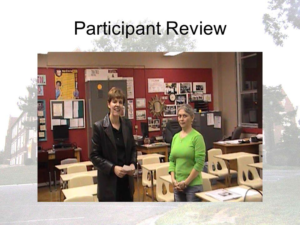 Participant Review