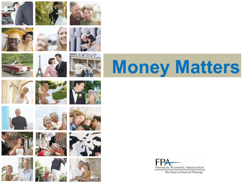 Money Matters Ka-ching!