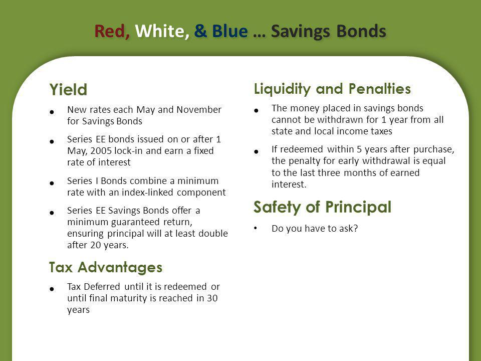 Savings Accounts Savings account is a bank instrument where money is extremely liquid and FDIC insured.