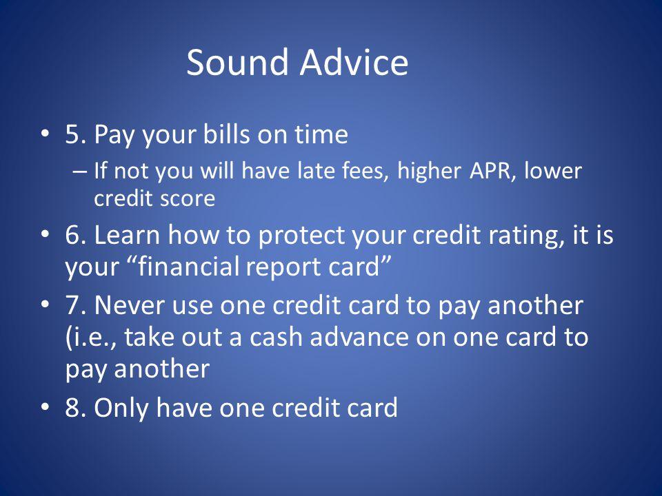 Sound Advice 5.