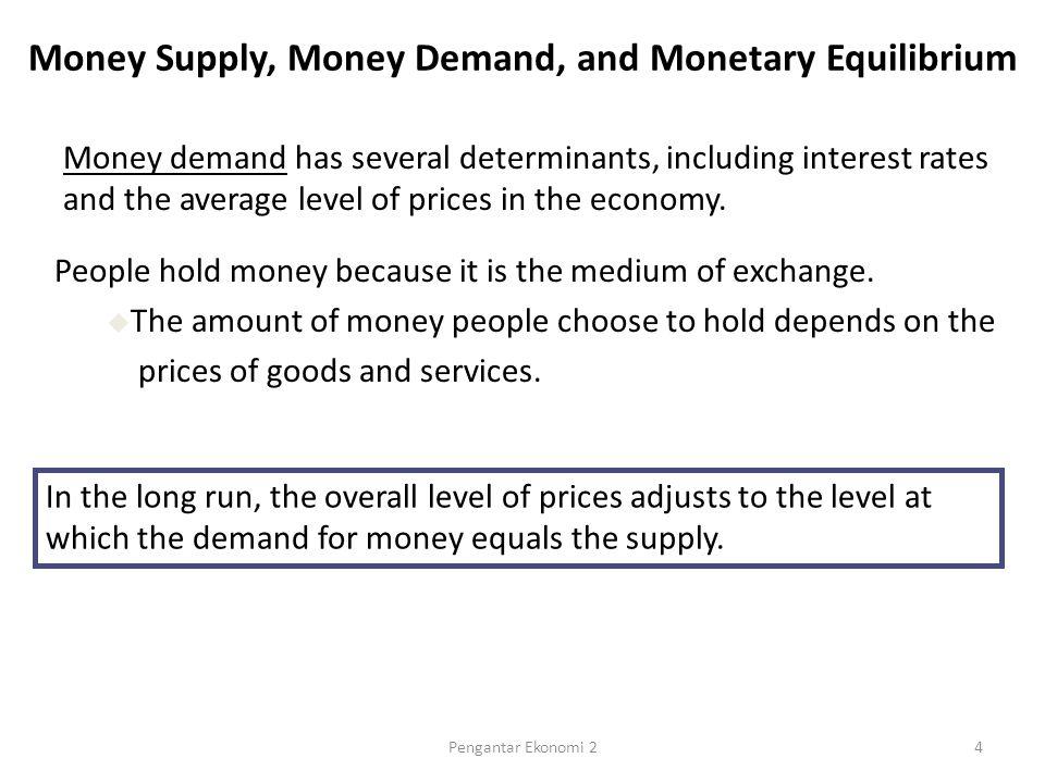 Percent (per year) 0 6 10 15 1960 1965 19701975 1980 1985 1990 1995 The Nominal Interest Rate and the Inflation Rate 3 12 Inflation Nominal interest rate 15Pengantar Ekonomi 2