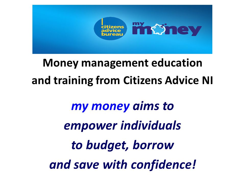 The Charity for your Community Budgeting & Saving