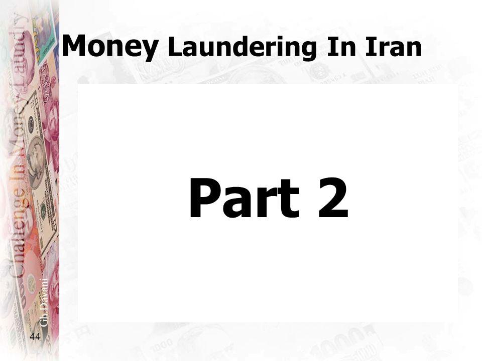 44 Money Laundering In Iran Part 2