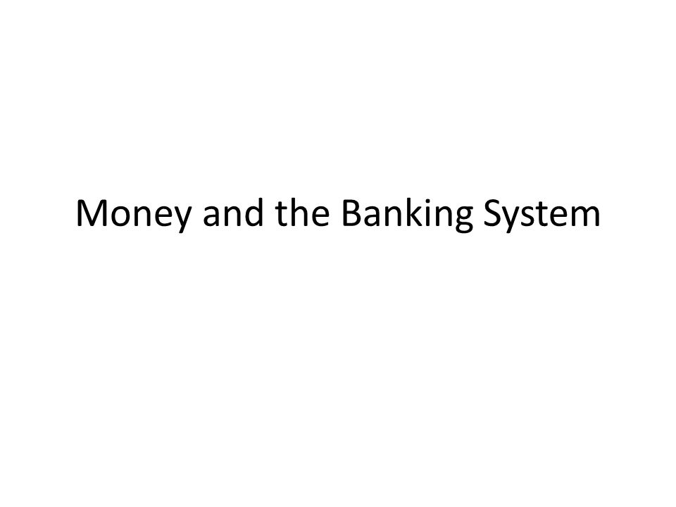 slide 2 Chapter objectives Money supply – how the banking system creates money – three ways the Fed can control the money supply Theories of money demand – a portfolio theory – a transactions theory: the Baumol-Tobin model