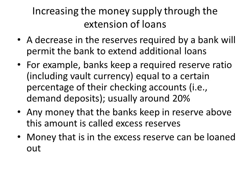 slide 10 SCENARIO 3: Fractional-Reserve Banking The money supply now equals $1800: The depositor still has $1000 in demand deposits, but now the borrower holds $800 in currency.