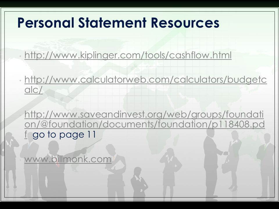 alc/   alc/   f go to page 11   f   Personal Statement Resources