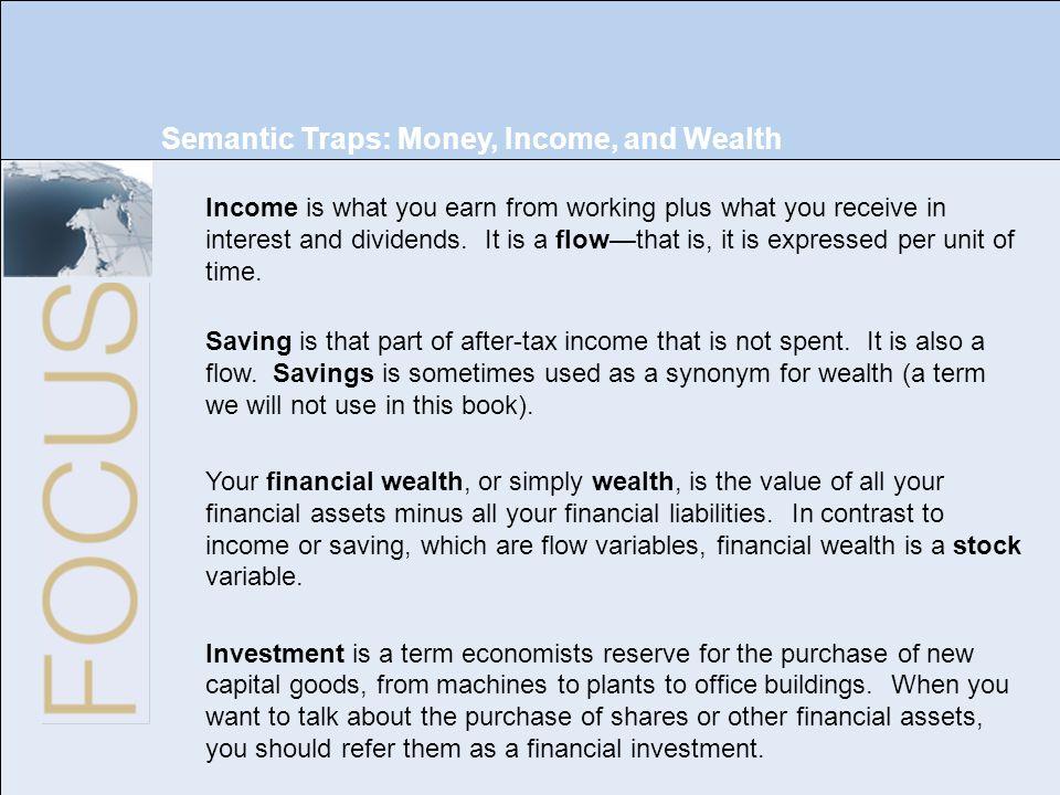 Chapter 4: Financial Markets Copyright © 2009 Pearson Education, Inc. Publishing as Prentice Hall Macroeconomics, 5/e Olivier Blanchard 3 of 32 Semant
