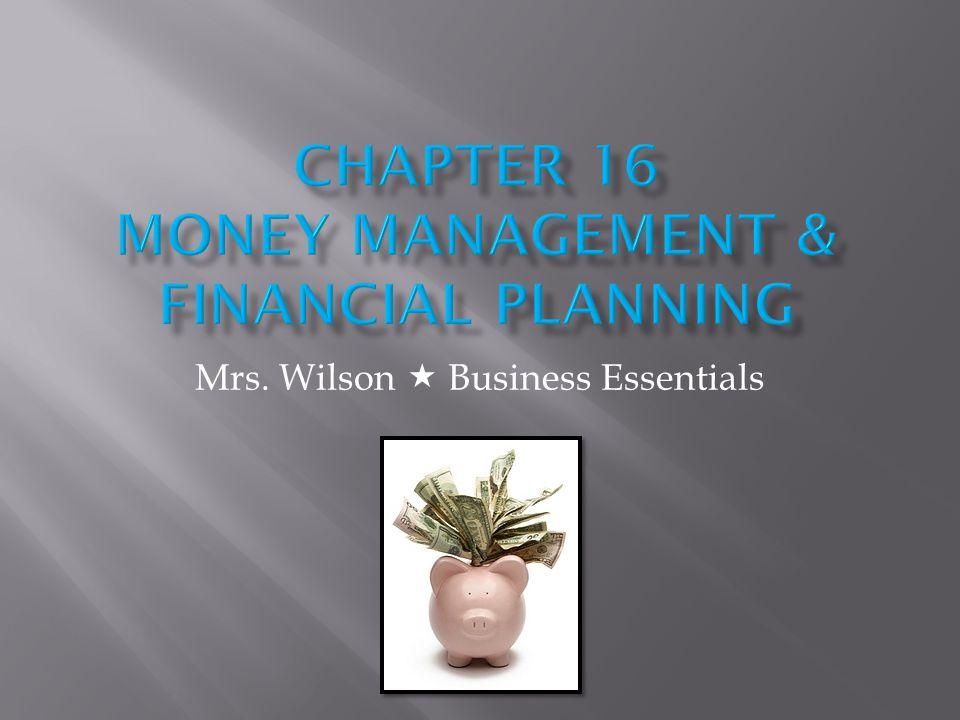 Mrs. Wilson Business Essentials