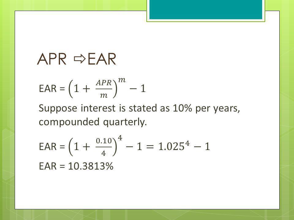 APR EAR