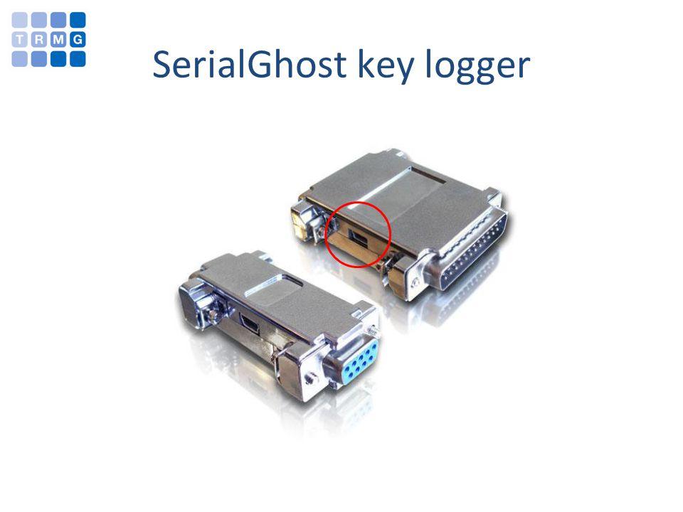 SerialGhost key logger