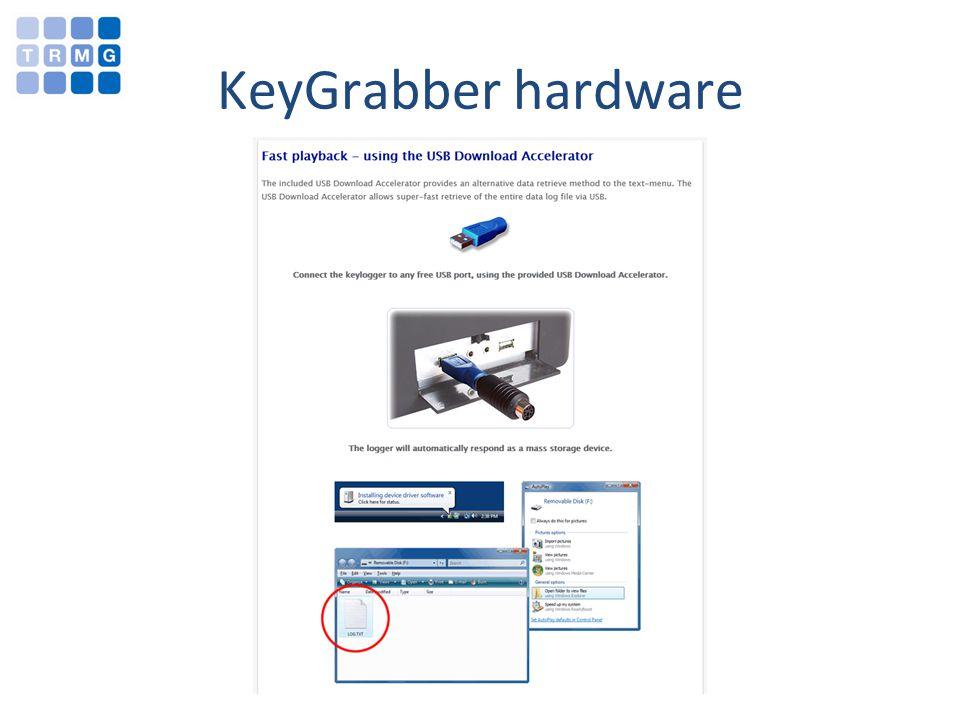KeyGrabber hardware