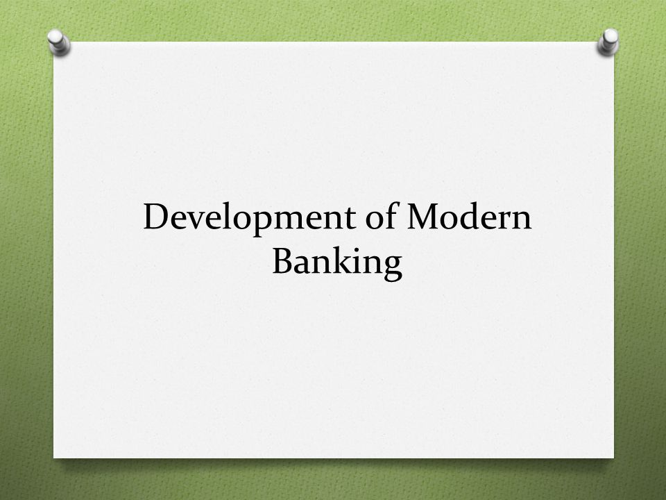 National Banking System 1.